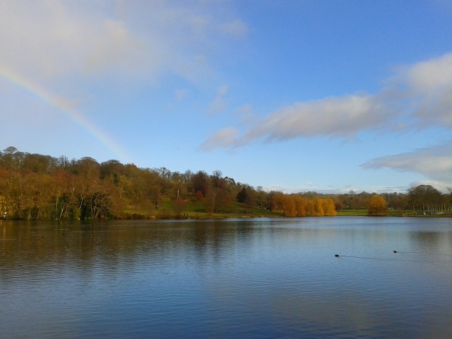 Himley Hall and Park Lake